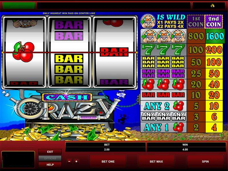 game slot Cash Crazy