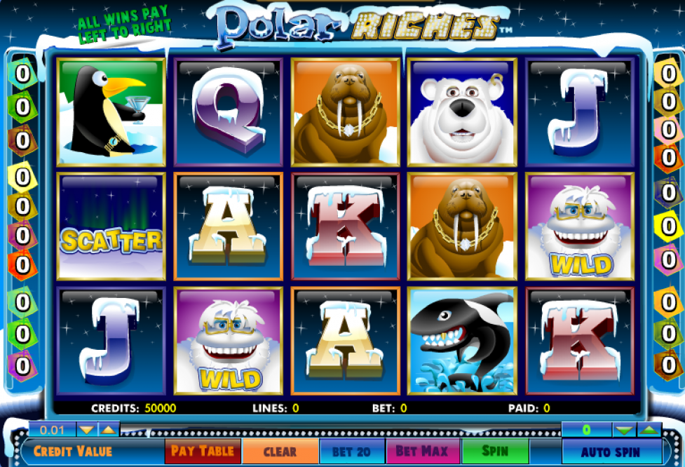 game slot Polar Riches