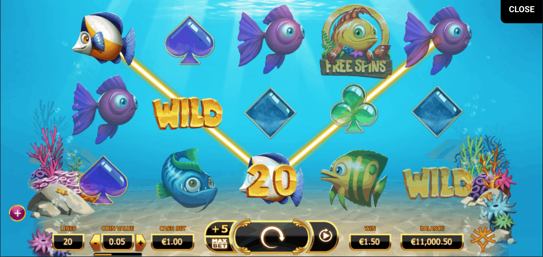 game slot Golden Fish Tank