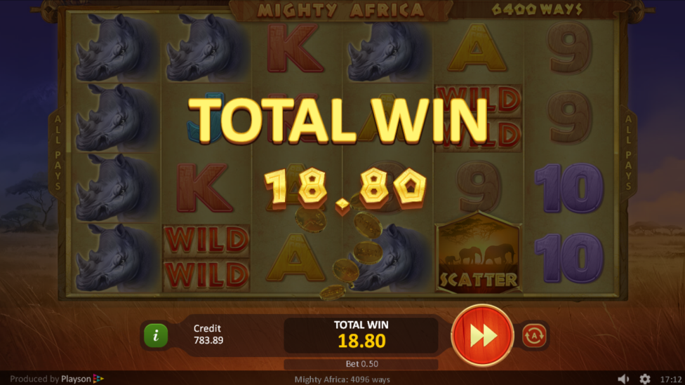 game slot Mighty Africa