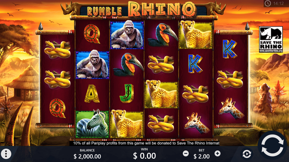 game slot Rumble Rhino