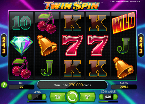 game slot Twin Spin