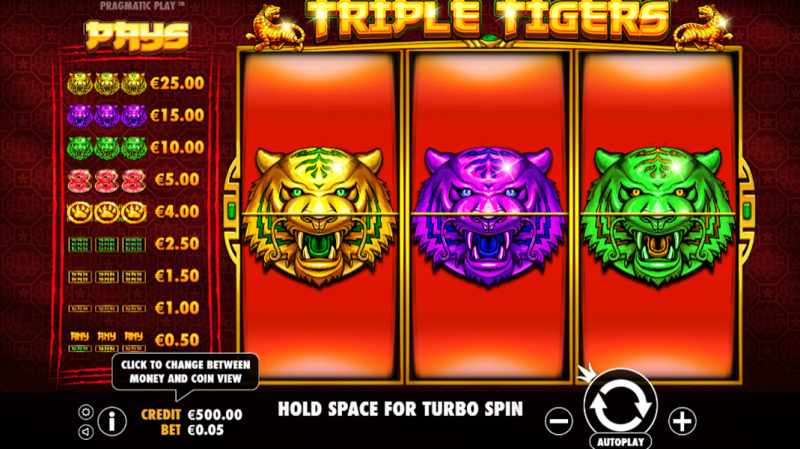 game slot Triple Tigers