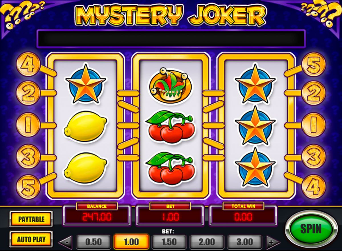 game slot Mystery Joker