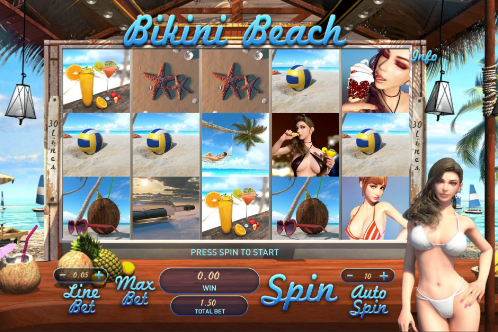 game slot Bikini Beach