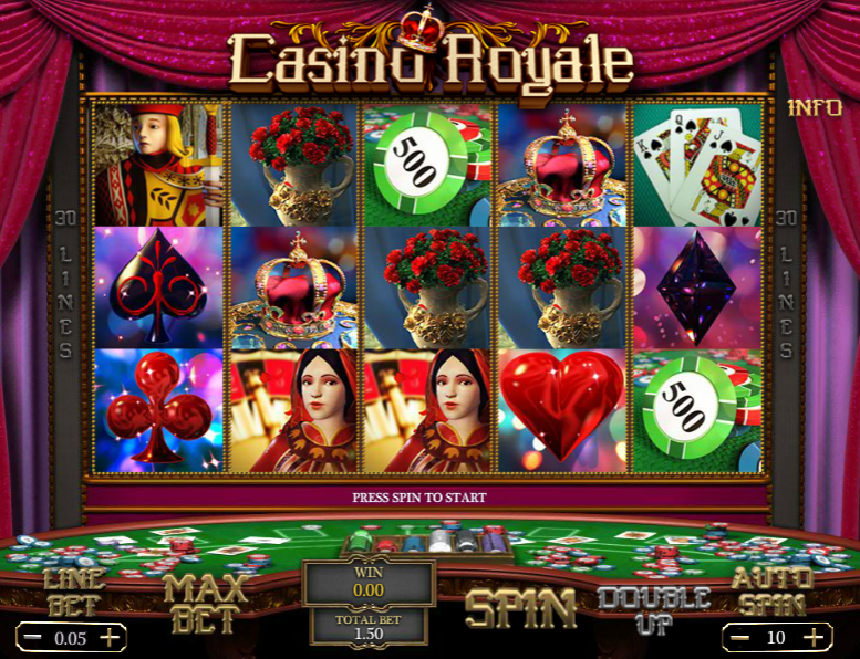 game slot Casino Royale