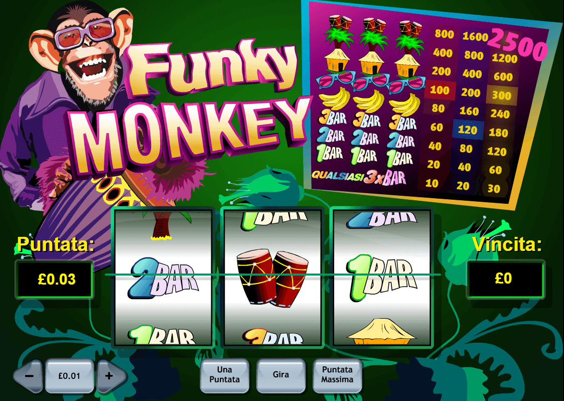 game slot Funky Monkey