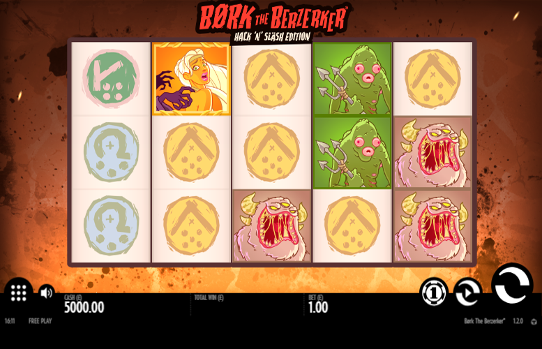 Game slot Bork The Berzerker