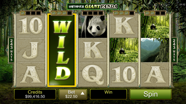 game slot Untamed Giant Panda