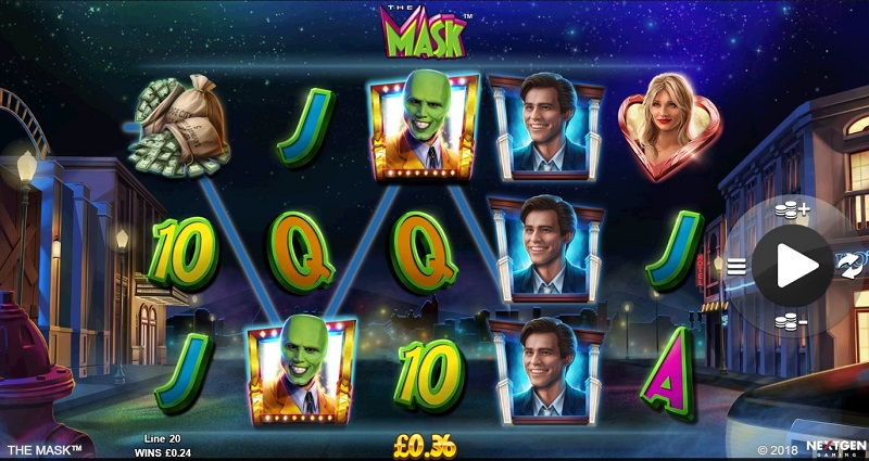 Game slot The Mask