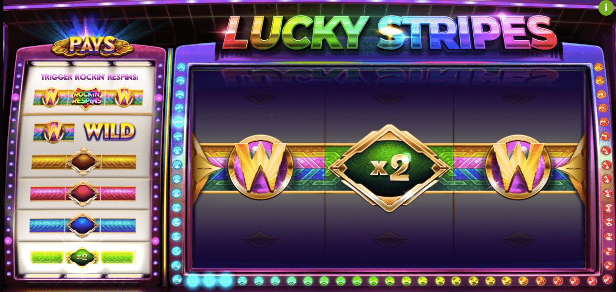 Game slot Lucky Stripes