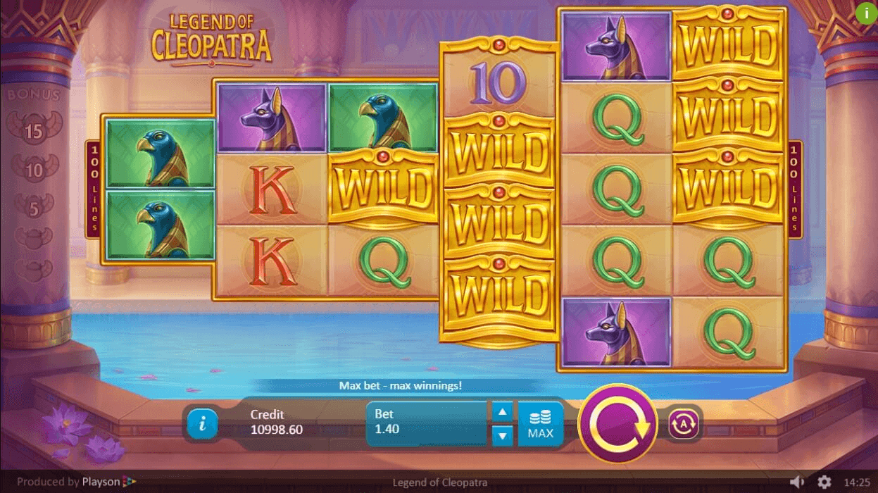 Game slot Legend of Cleopatra