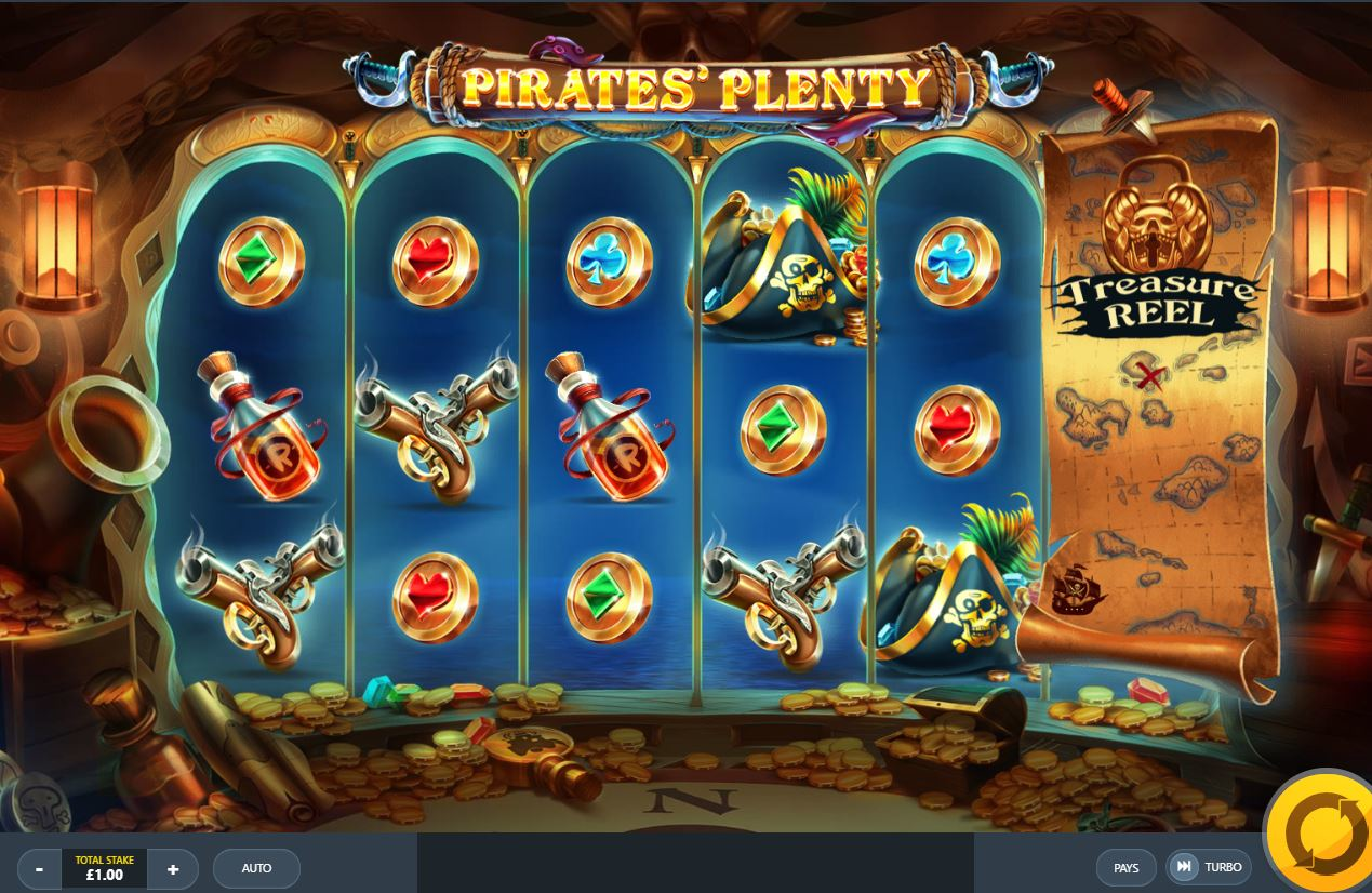 game slot Pirates' Plenty