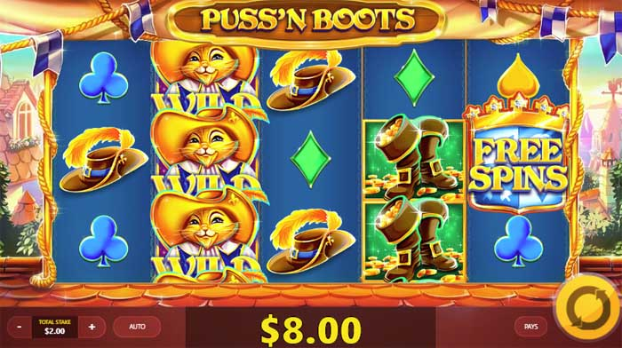 game slot Puss'N Boots