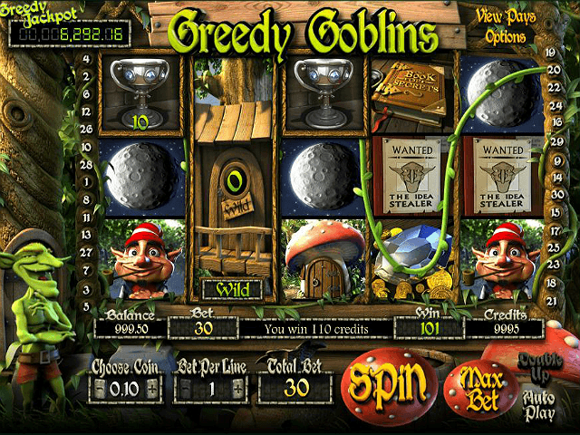 game slot Greedy Goblins