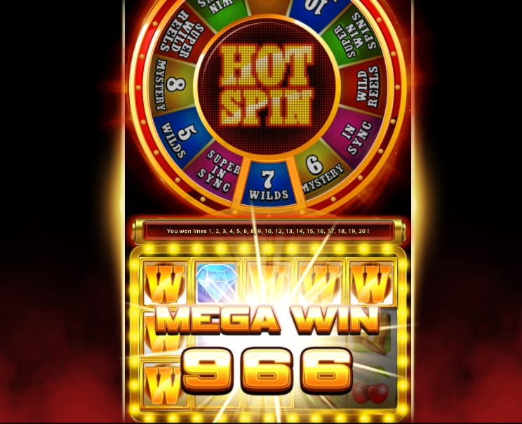 Game slot Hot Spin