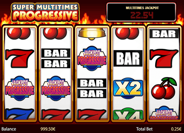 Game slot Super Multitimes Progressive