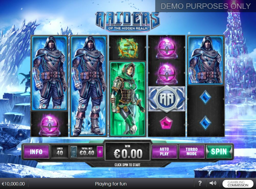 game slot Raiders of Hidden Realm