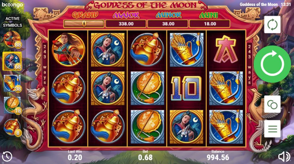 game slot Goddess Of The Moon