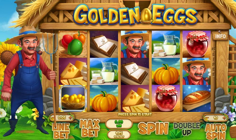 game slot Golden Eggs