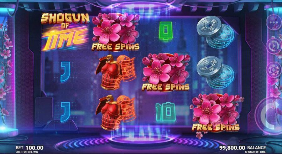 game slot Shogun of Time