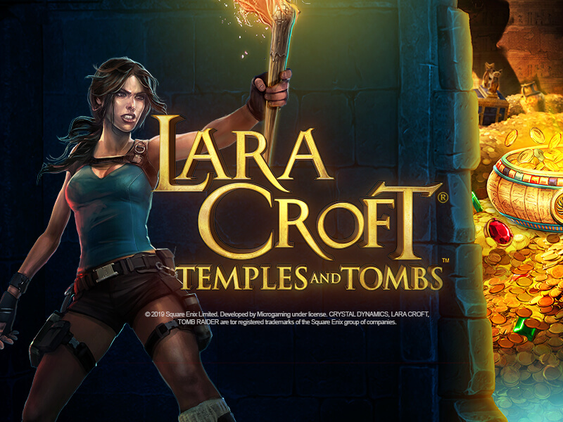 game slot Lara Croft Temples and Tombs