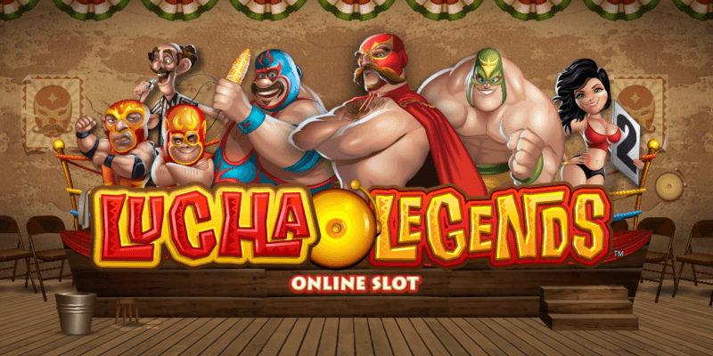 game slot Lucha Legends