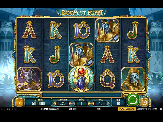 game slot Doom of Egypt