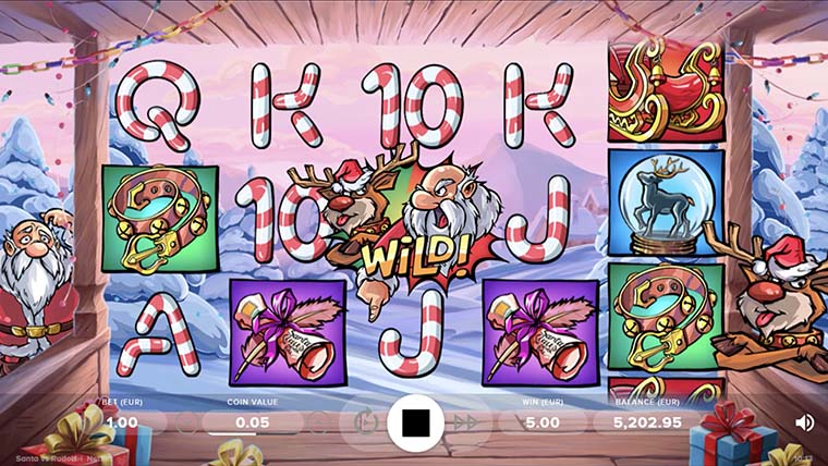 game slot Santa vs Rudolf