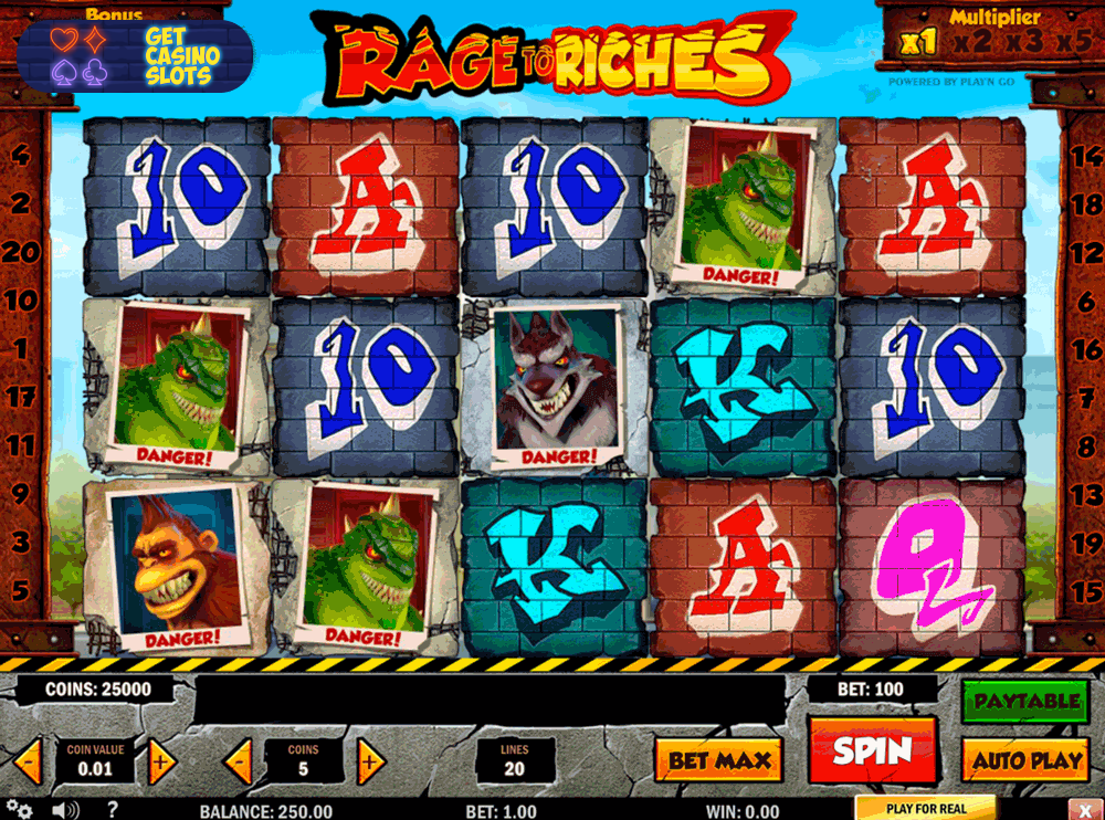 game slot Rage to Riches