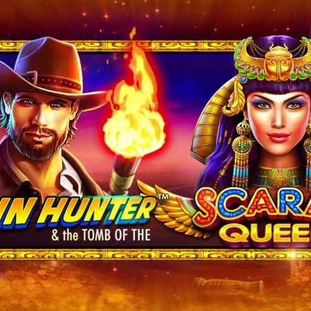Khám phá Ai Cập cùng chàng John trong game slot John Hunter and the Tomb of the Scarab Queen