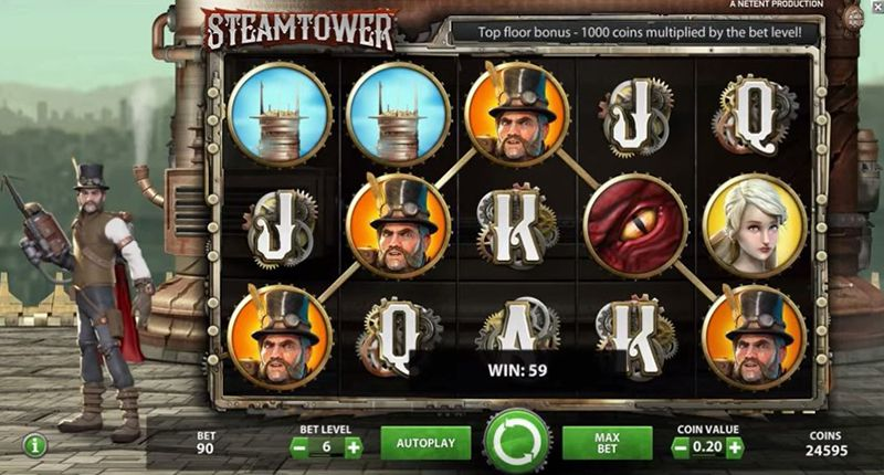 game slot Steam Tower