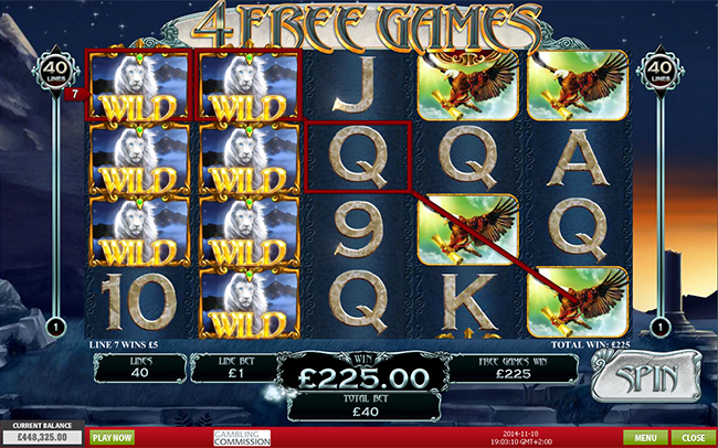 game slot White King