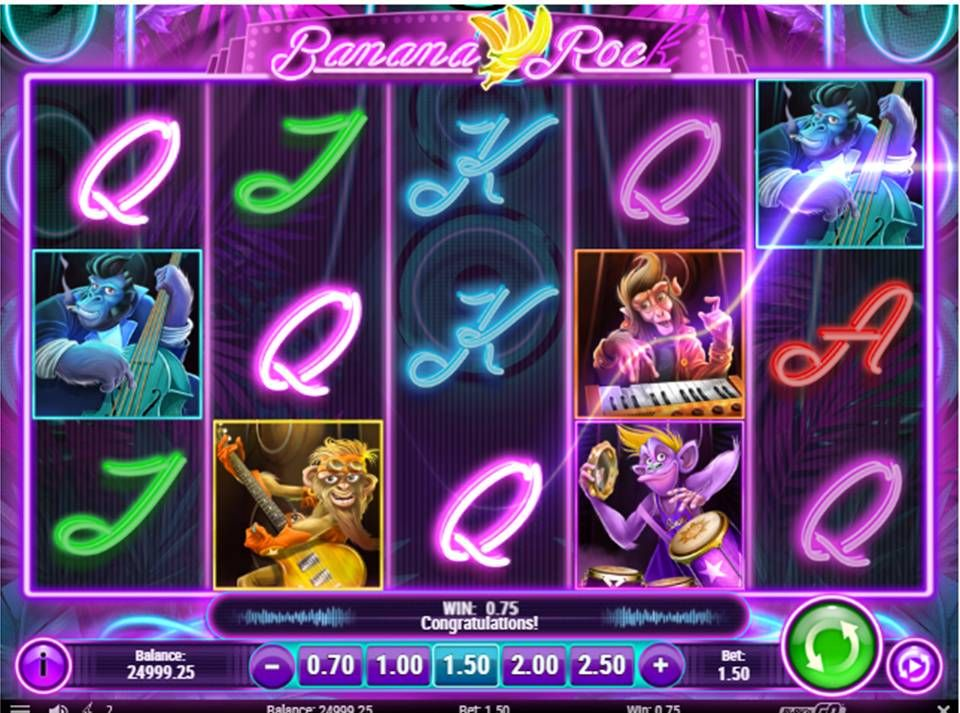 game slot Banana Rock