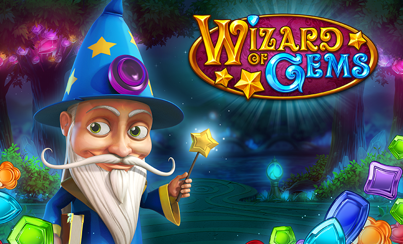 game slot Wizard of Gems