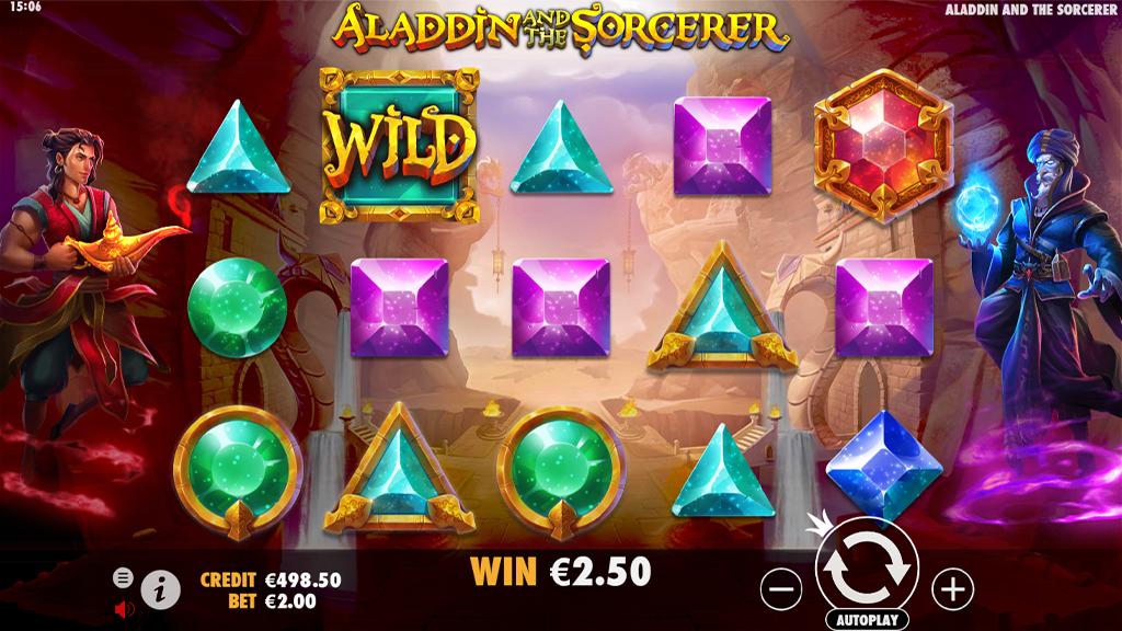 game slot Aladdin and the Sorcerer
