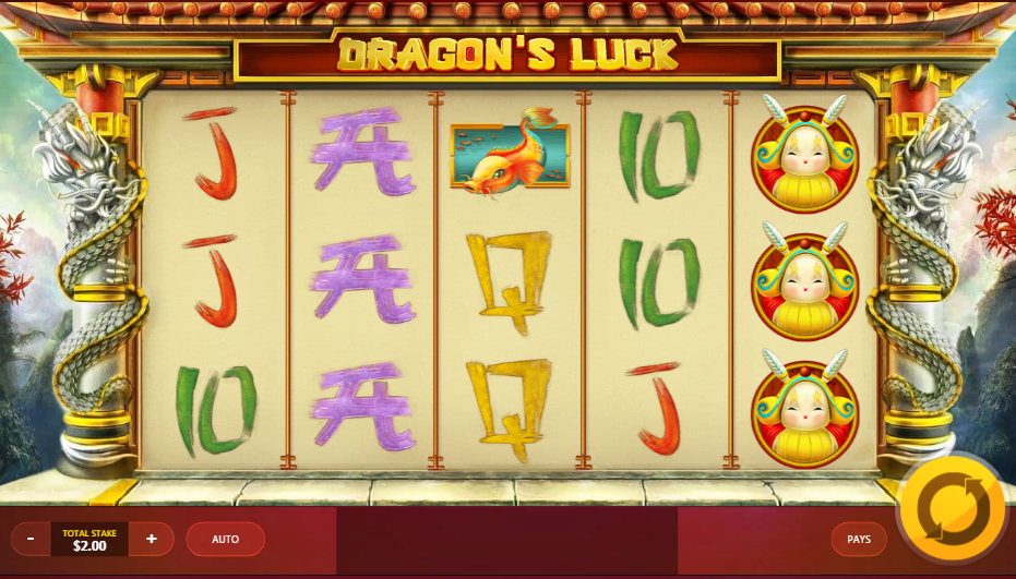 game slot Dragon's Luck