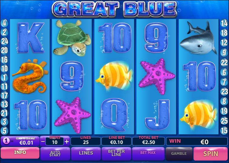 game slot Great Blue