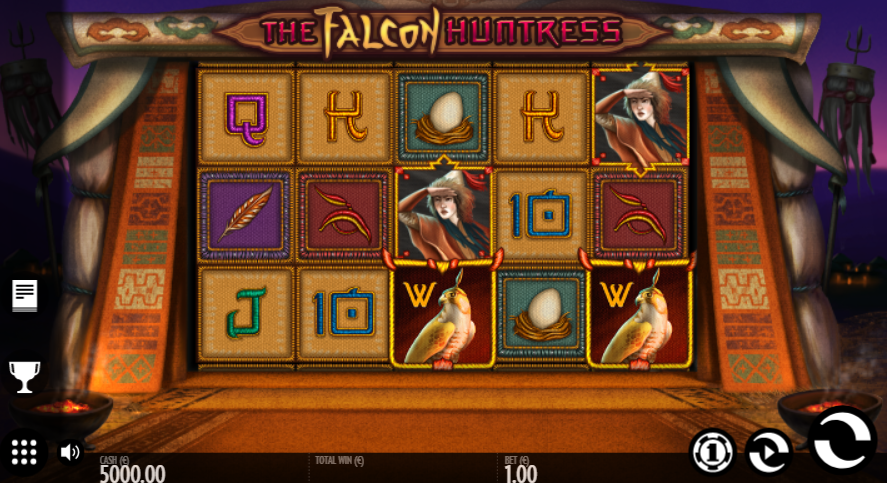 game slot The Falcon Huntress