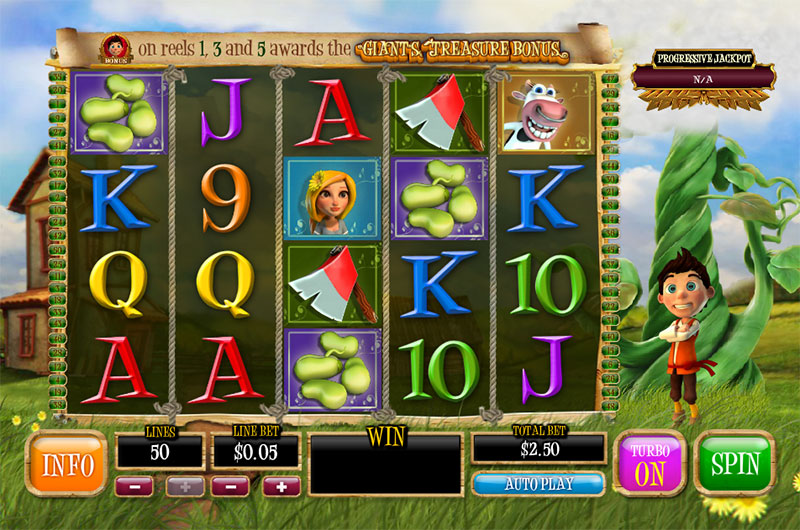 game slot Bounty of the Beanstalk