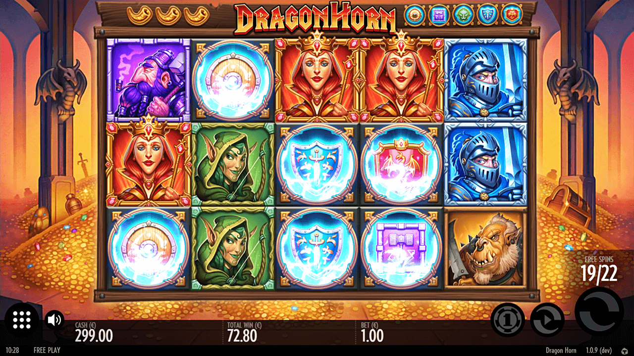 Game slot Dragon Horn