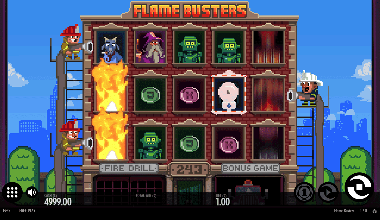 game slot Flame Busters
