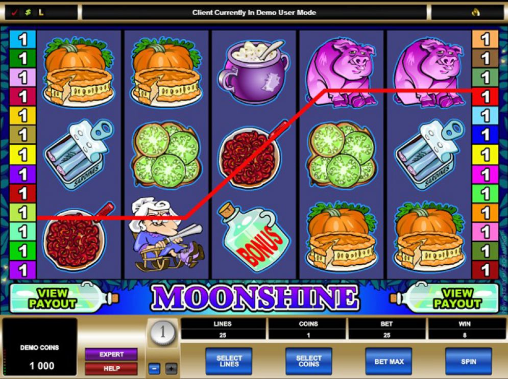 game slot Moonshine
