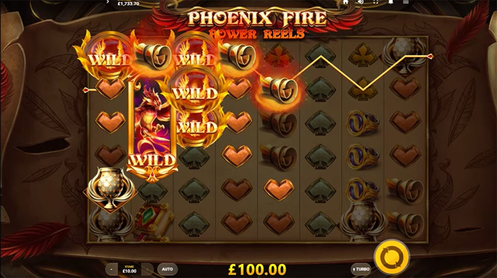 Game slot Phoenix Fire Power Reels