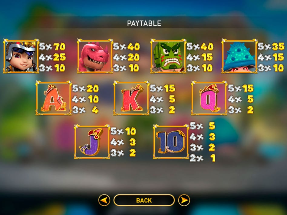 game slot Monsters Cash