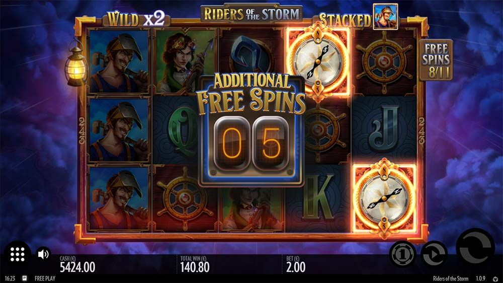 game slot Riders of the Storm