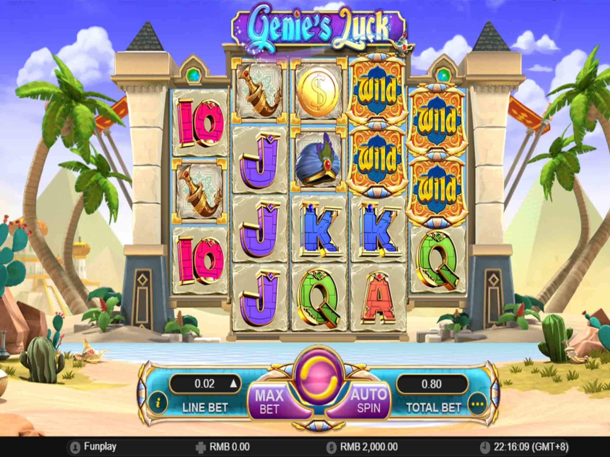 Game slot Genie's Luck