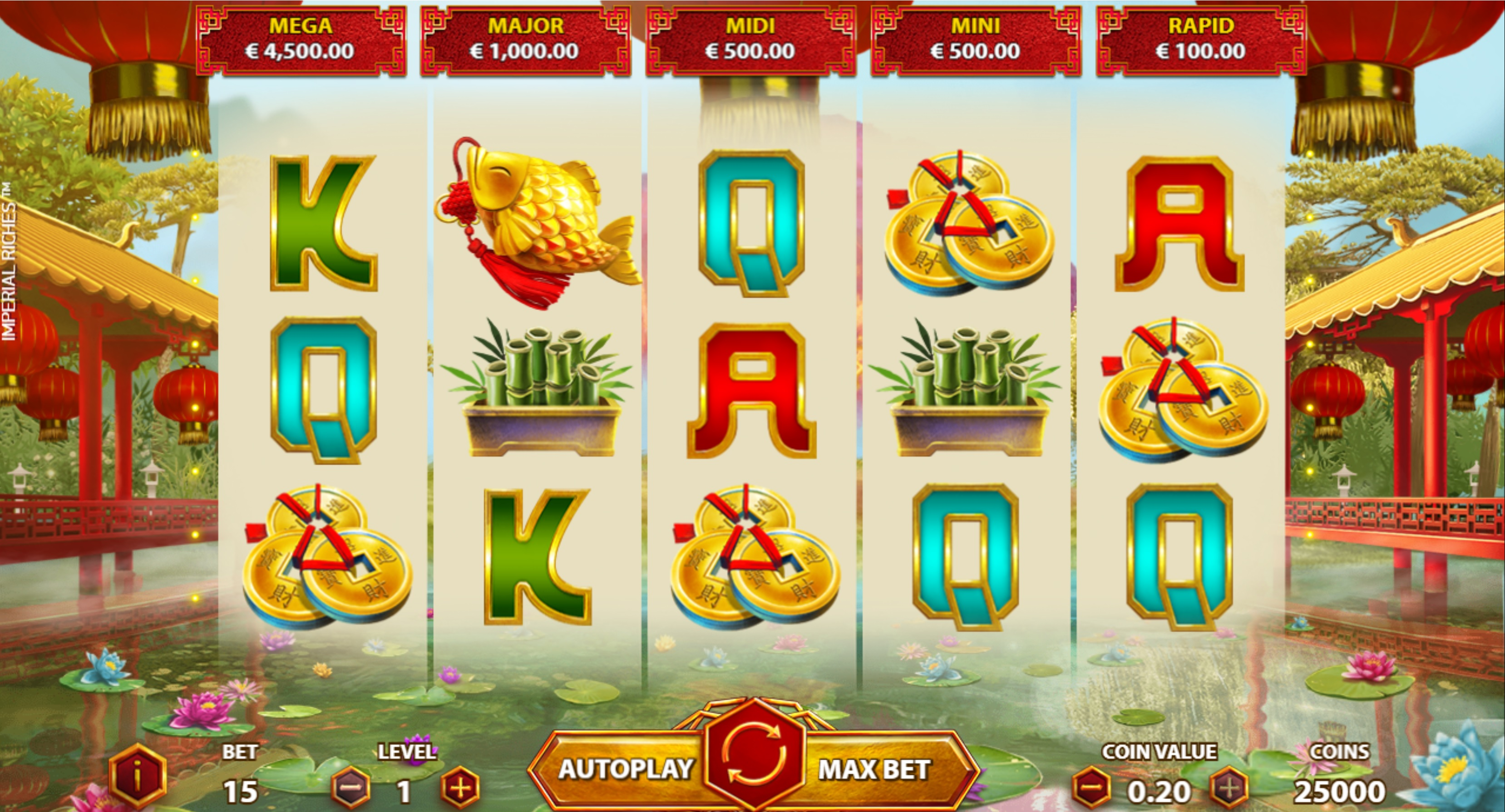 game slot Imperial Riches