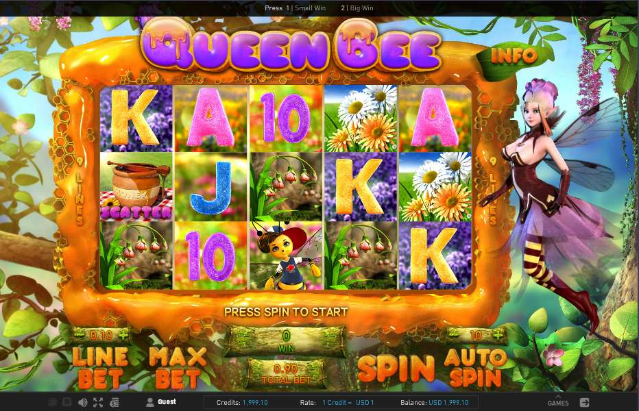 Game slot Queen Bee
