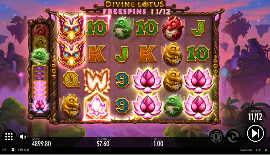 game slot Divine Lotus